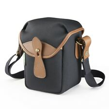 Billingham 72 Camera Bag in Black/Tan