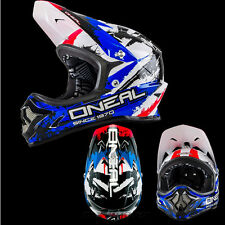ONEAL Backflip MTB DH BMX RL2 SHOCKER BLU MOUNTAINBIKE Casco bmx freeride