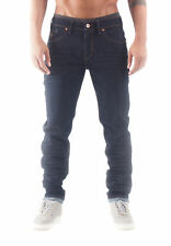 Rocawear Jeans Uomo Tapered Stretch Fit REALE BLU SCURO 832