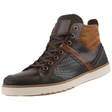 NEUF Mustang Chaussures pour hommes Baskets montantes bottines bottes en cuir