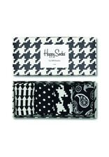 Happy Socks CAJA DE REGALO BLANCO Y NEGRO CAJA DE REGALO xbwl09-9000 Negro