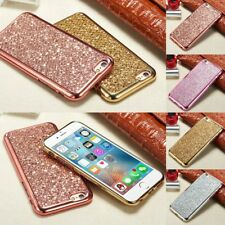 Bling Swa-roski Crystal Element Electroplating TPU Case Cover For iPhone Models