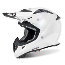 AIROH adulti AVIATOR JUNIOR MX motocross fuoristrada casco - Bianco