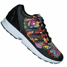 ADIDAS ORIGINALS SNEAKER RUNNING ZX FLUX 12 AQ5460 BLACK MULTICOLORED DOES NOT