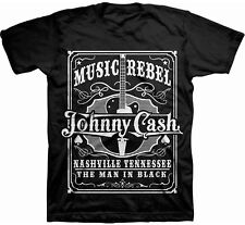 JOHNNY CASH Music Rebel T-SHIRT OFFICIAL MERCHANDISE