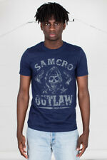 Official Sons Of Anarchy Outlaw T-Shirt Unisex Jax CASSIERE Samcro MOTO