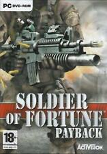 Soldier of Fortune 3 Payback (PC DVD), Very Good Windows Vista, Windows 7, Windo
