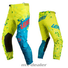 18 LEATT GPX 4.5 calce Teal MX motocross cross TUBO RADIATORE PANTALONE