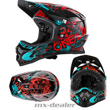 ONEAL Backflip Attack NERO ROSSO dh bmx mountainbike Casco MTB FREERIDE