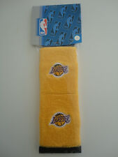 2 x muñequeras baloncesto NBA Los Angeles Lakers basketball wristbands set