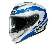 CASCO INTEGRALE SHOEI GT AIR IN FIBRE MULTI COMPOSITE AIM SWAYER TC 2 BIANCO BLU