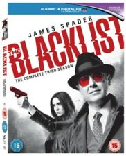 THE BLACKLIST Stagione 3 BLU-RAY NUOVO Blu-Ray (sbrp64692uv)