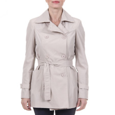 Versace 19.69 TRENCH CORTO NEW MEMORY BEIGE Giacca donna Beige IT