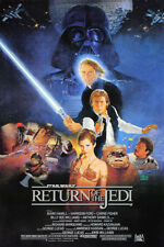 Star Wars Return of the Jedi 1983 Movie Poster Wall Canvas Print A1/A2/A3/A4