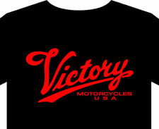 Victory Motorcycle T shirt up to 5XL Biker classic vintage