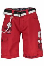 Geographical Norway BO-PINACOLADA_RED bermudes pour homme - coleur Rouge FR