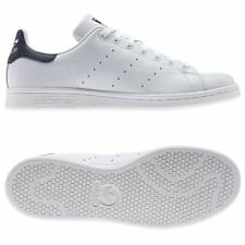 adidas ORIGINALS STAN SMITH TRINERS WHITE NAVY TENNIS MEN'S SNEAKERS SHOES