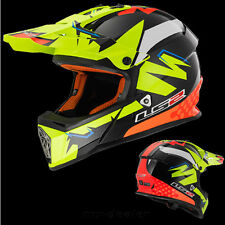 LS2 MX 437 ISAAC vinales AMARILLO CASCO MOTOCROSS CROSS S M L XL QUAD