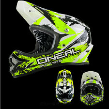 ONEAL Backflip MTB DH BMX RL2 SHOCKER giallo neon mountainbike Casco freeride