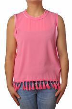 Traffic People - Topwear-Sleeveless Top - Woman - Pink - 5110616C184321