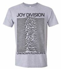 New Official JOY DIVISION - UNKNOWN PLEASURES (GREY) T-Shirt