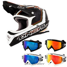 O'NEAL 3Series STAR NERO CASCO DA CROSS MX motocross cross HP7 Occhiali DH