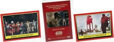 2016 Star Wars Rogue One Mission Briefing Red Border Puzzle Insert Set Singles