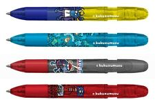 Inoxcrom KUKUXUMUSU FANTASTICS Stylo à bille stylos. 4 couleurs de collection