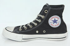 NUOVO ALL STAR CONVERSE Chucks CT HI SNEAKER NERE BENE WORN 142222C SCARPE RETRO