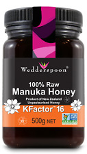 Wedderspoon RAW Manuka Honey KFactor 16 - 500g