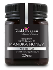 Wedderspoon RAW Manuka Honey KFactor 22 - 250g