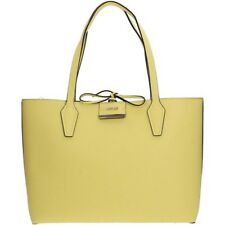 BORSA DONNA GUESS BOBBI SHOPPER REVERSIBILE LEMON / STONE
