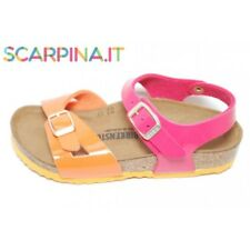 Birkenstock 1003303 Rio Tropical Orange Pink Sandalo