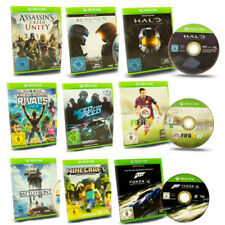 XBox One Spiel Assassins Creed Fifa Forza Horizon Motorsport Halo Tomb Raider