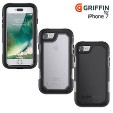originale Griffin SOPRAVVISSUTO VERTICE iPhone 7 RIGIDA robusta Custodia cover