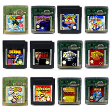 GAMEBOY COLOR GBC JUEGO POKEMON CRISTAL PINBALL MARIO TETRIS WARIO LAND Zelda