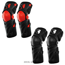 THOR FORCE XP PROTECTOR Rodillas Protección Rojo Mx Motocross Cross Quad