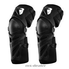 THOR FORCE XP PROTECTOR Rodillas Protección Negro Mx Motocross Cross