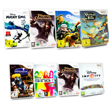 Wii Disney Spiel Cars Mickey Epic Pirates of the Caribbean Oben Phineas & Ferb