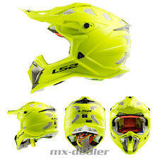 LS2 LS 2 MX 470 SUBVERTER GIALLO NEON MX Casco da cross motocross quad enduro