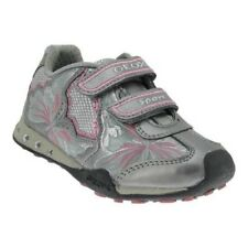GEOX BLINKI Fille Baskets Chaussures basses scratch chaussures fille LED