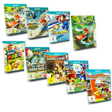 Wii U Spiel Mario Kart 8 Party 10 Mario & Sonic New Super Mario Bros Mario Maker