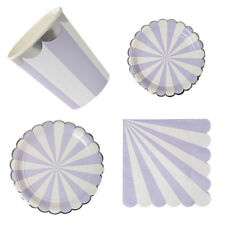 Silver Cup Disposable Paper Flower Plates Birthday Party Baby Shower Tableware