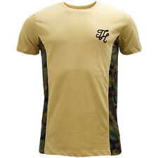 Hype Sand Camouflage Sides T-Shirt - Camo Sides