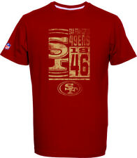 SAN FRANCISCO 49ERS T-Shirt Tee, NFL Football, 100% BW, logo, Squadra, from