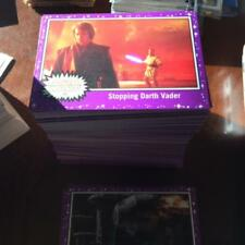 2017 Topps Star Wars Journey to The Last Jedi RETAIL PURPLE STARFIELD Pick Cards