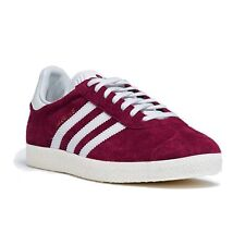 ADIDAS ORIGINALS  BASKETS  GAZELLE S76220  BORDEAUX BLANC NEUF GRADE A