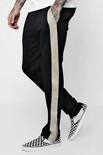 Boohoo Wide Fit Panel Tricot Joggers per Uomo