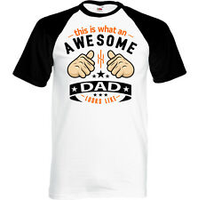 This Is What an Awesome Papá Looks Like Hombres Camiseta Divertida Día del Padre