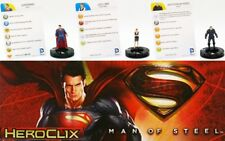 2013 Superman Man of Steel HeroClix Miniatures Figurines Game DC Comics Wizkids